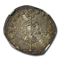 Byzantine Empire AR Miliaresion John I (969-976 AD) Ch VF NGC
