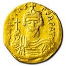 Byzantine Empire Gold Solidus Emperor Phocas (602-610 AD) XF