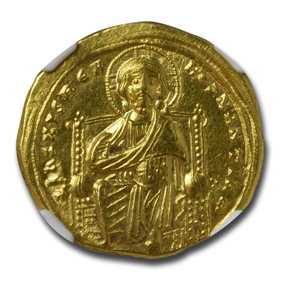 Byzantine Gold Hist. Nomisma Romanus III (1028-34 AD) Ch AU NGC