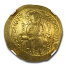 Byzantine Gold Histamenon Constantine X (1059-67 AD) Ch VF NGC