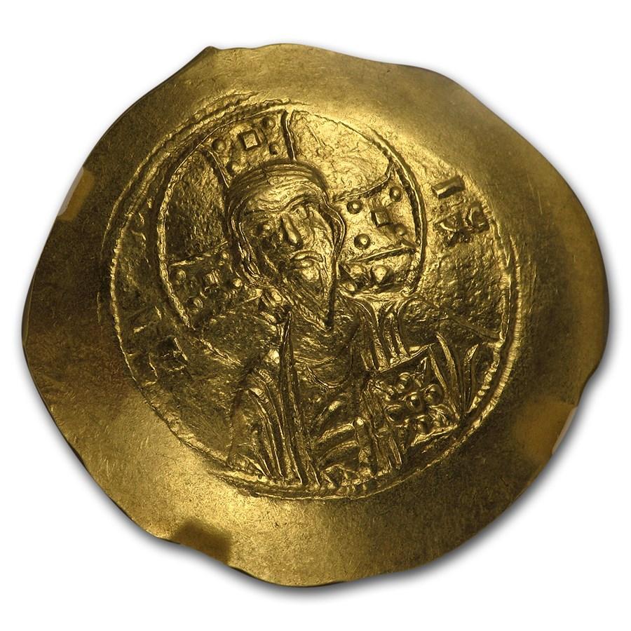 Byzantine Gold Histamenon Michael VII (1071-1078 AD) MS NGC