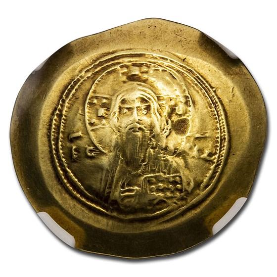 Byzantine Gold Histamenon Michael VII (1071-1078 AD) VF NGC
