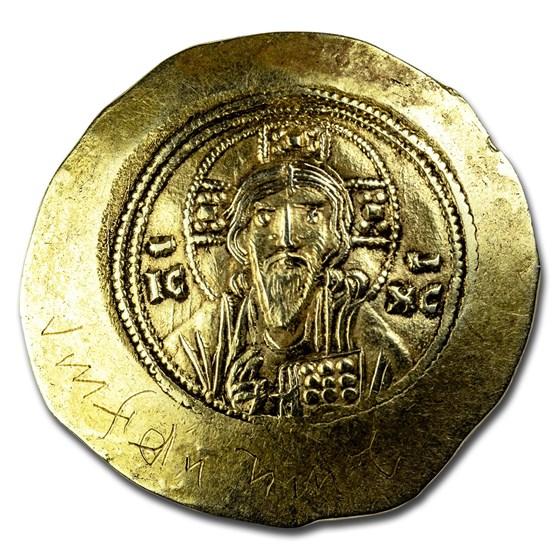 Byzantine Gold Histamenon Nomisma Michael VII (1071-1078 AD) XF