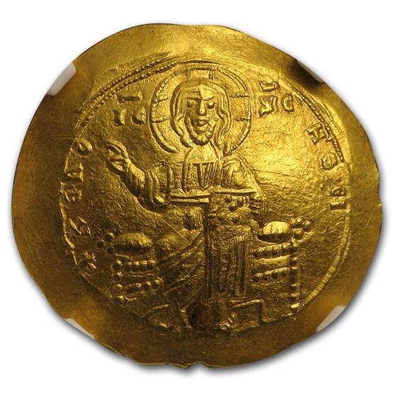 Byzantine Gold Hyperpyron Alexius I (1081-1118 AD) MS NGC