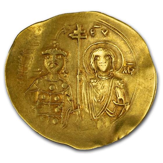 Byzantine Gold Hyperpyron John II Comnenus (1118-1143 AD) VF