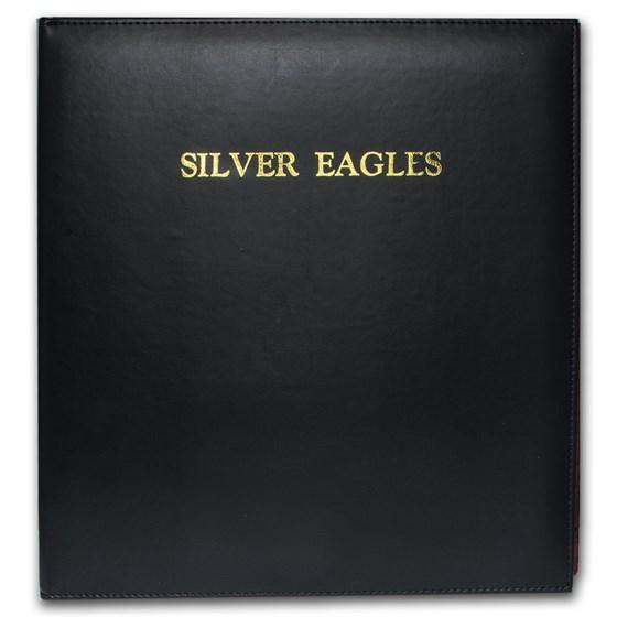 CAPS Album #2225 for Silver Eagle Date Set (1986-Date)