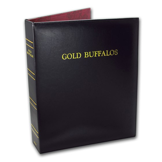 CAPS Album #2256 for Gold Buffalo Date Set (2006-2021)