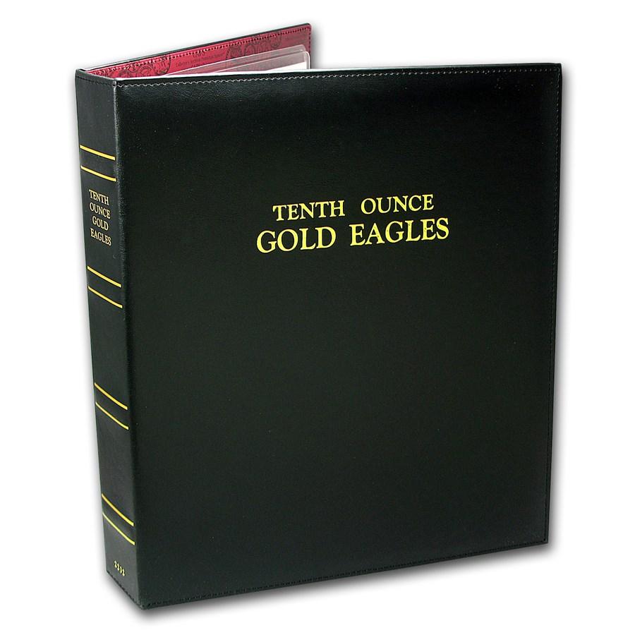 CAPS Album for 1/10 oz Gold American Eagle Date Set (1986-Date)