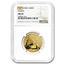China 1 oz Gold Panda MS-69 NGC (Random Year)