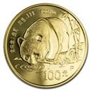 China 1 oz Gold Proof Panda (Random Year, In Capsule)