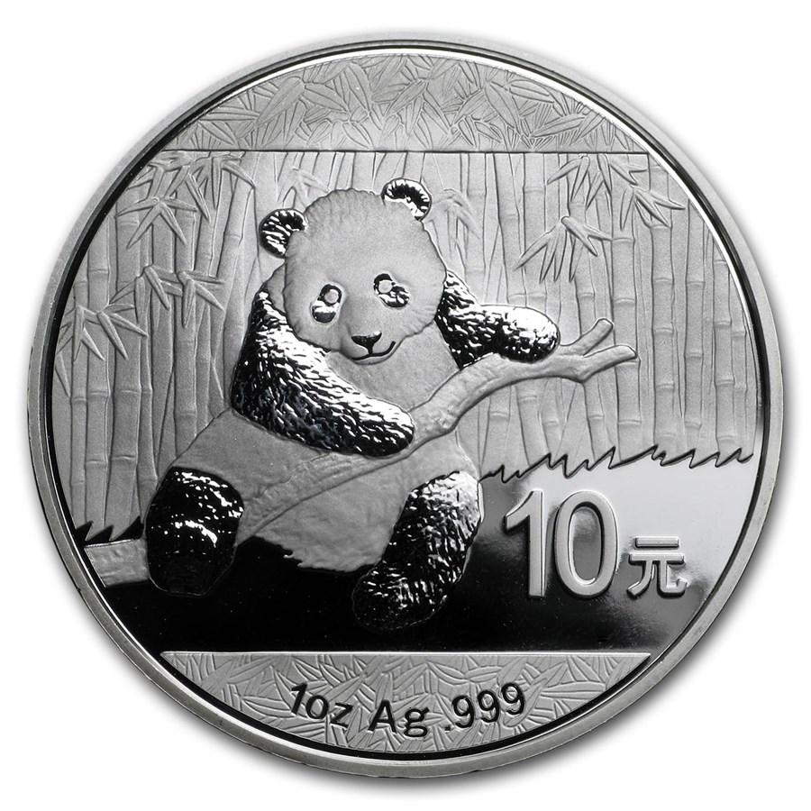 China 1 oz Silver Panda (Random Year)