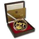 China 12 oz Gold Panda Proof (w/Box and COA) Random Year