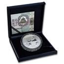 China 150 gram Silver Panda Proof (Random Year, w/Box & COA)