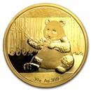 China 30 gram Gold Panda BU (Random Year, Not Sealed)