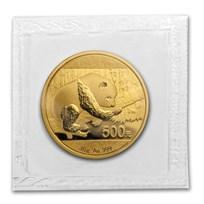 China 30 gram Gold Panda BU (Random Year, Sealed)