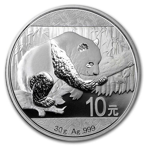 China 30 gram Silver Panda (Random Year)