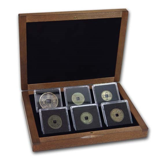 China 6-Coin Cash Imperial Coins Collection