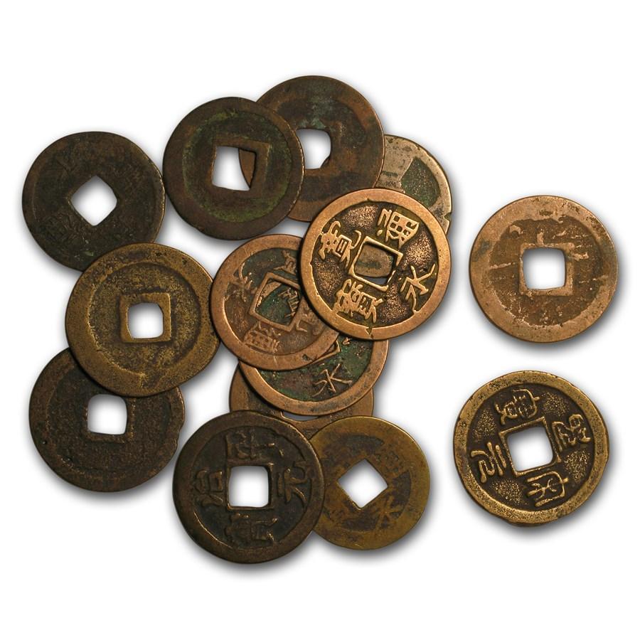 China Song Dynasty AE Cash (960-1279 AD) Avg Circ