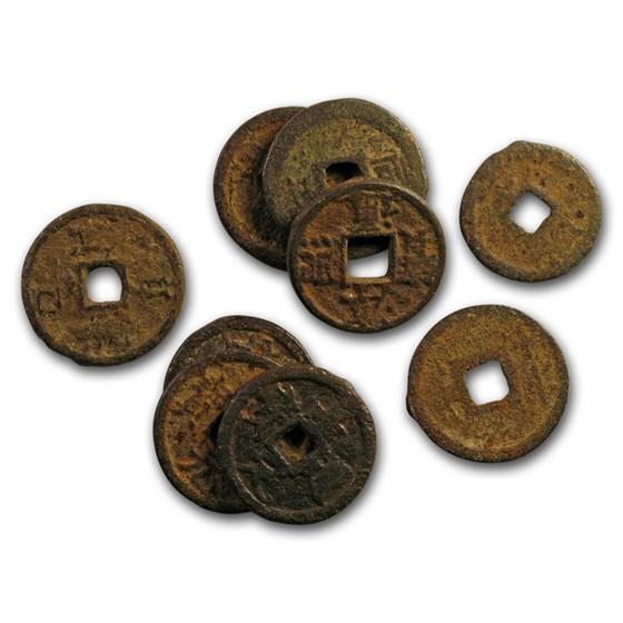 China Song Dynasty AE Cash Emp. Huizong (1102-1106 AD) Avg Circ