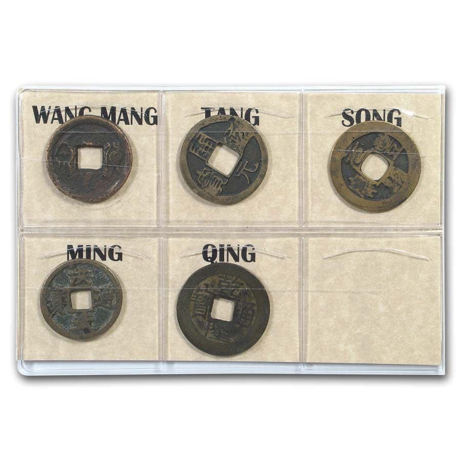 Chinese 5 Dynasty Coin Album