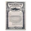 Choctaw, Oklahoma and Gulf Railroad Company Gold Bond (Unissued)