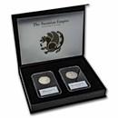 Coinage of the Sasanian Empire: Silver 2-Coin Presentation Set