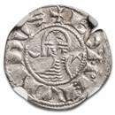 Crusader States Antioch AR Denir Bohemond III 1163-1201 AD AU NGC