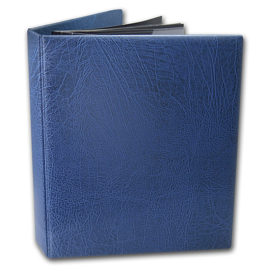 Currency Binder (Blue) - Modern U.S. Bank Notes