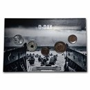 D-Day Coins from Around the World 5-Coin Set