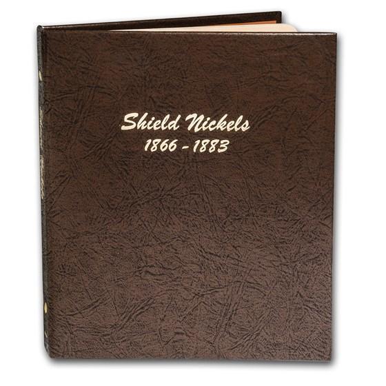 Dansco Album #6110 - Shield Nickels 1866-1883