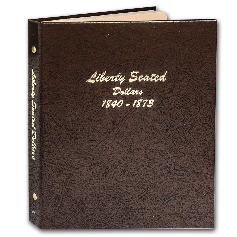 Dansco Album #6171 - Liberty Seated Dollars 1840-1873