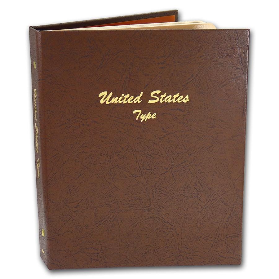 Dansco Album #7070 - U.S. Type - Major Coins from 1800 on