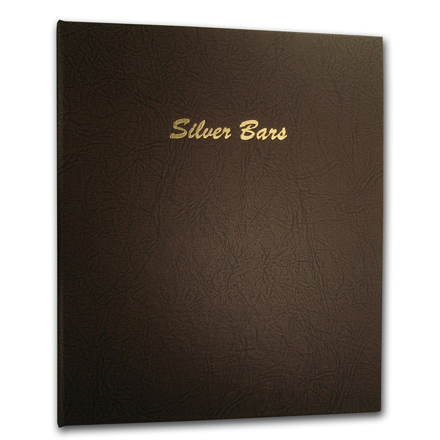 Dansco Album #7085 - Silver Bars Horizontal 40 Ports