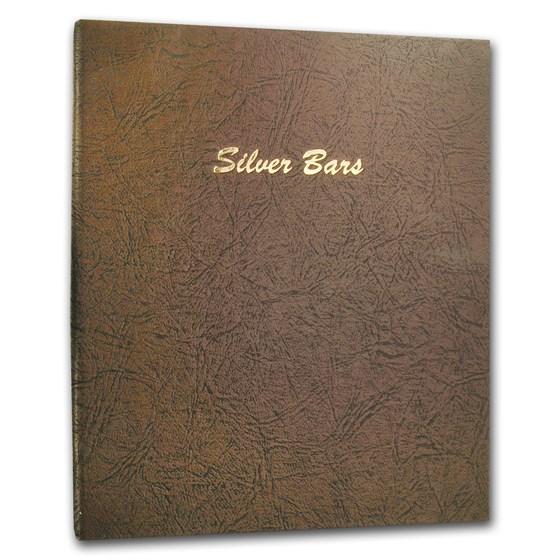 Dansco Album #7086 - Silver Bars Vertical 45 ports