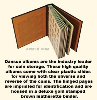 Dansco Album #7101 - Indian Head Cents 1857-1909
