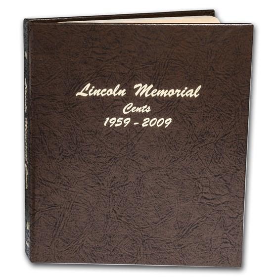 Dansco Album #7102 - Lincoln Memorial Cents 1959-2009