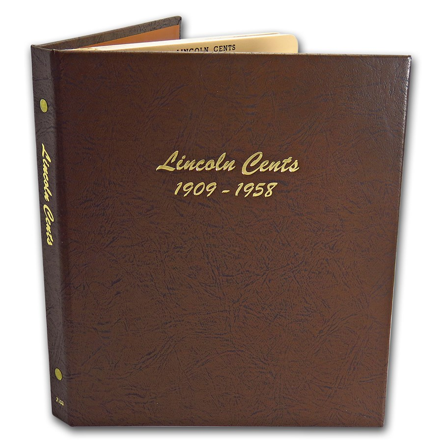 Dansco Album #7103 - Lincoln Cents 1909-1958