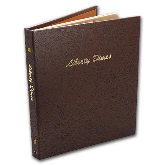 Dansco Album #7121 - Liberty Dimes 1892-1916