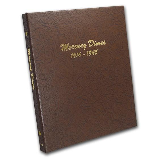 Dansco Album #7123 - Mercury Dimes 1916-1945