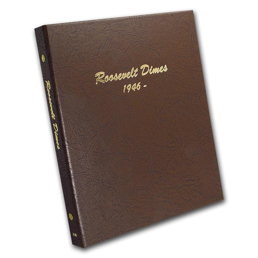 Dansco Album #7125 - Roosevelt Dimes (w/out Proofs)