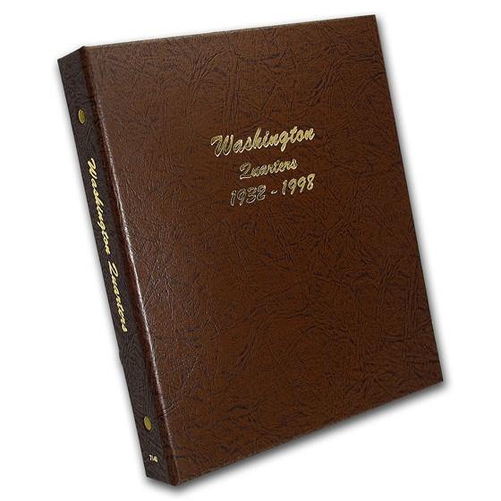 Dansco Album #7140 - Washington Quarters 1932-1998
