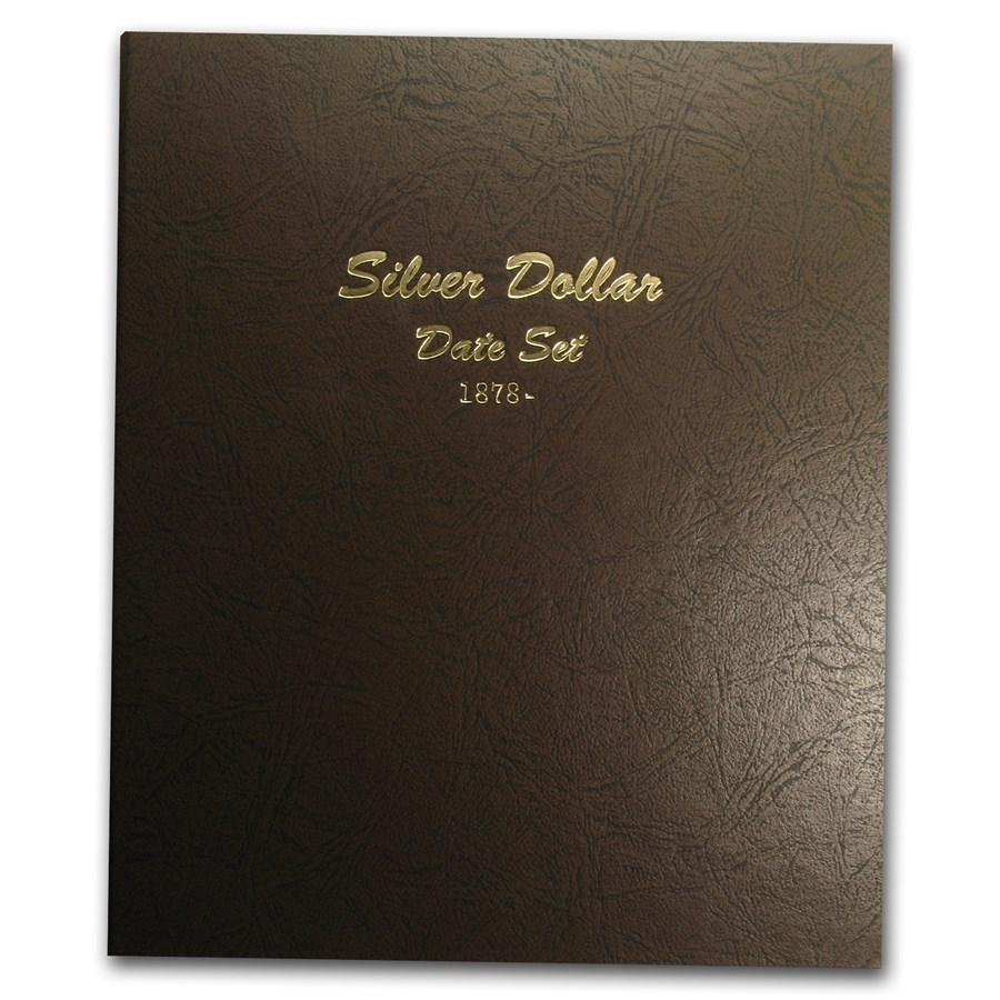 Dansco Album #7172 - Silver Dollar Date Set 1878-Date