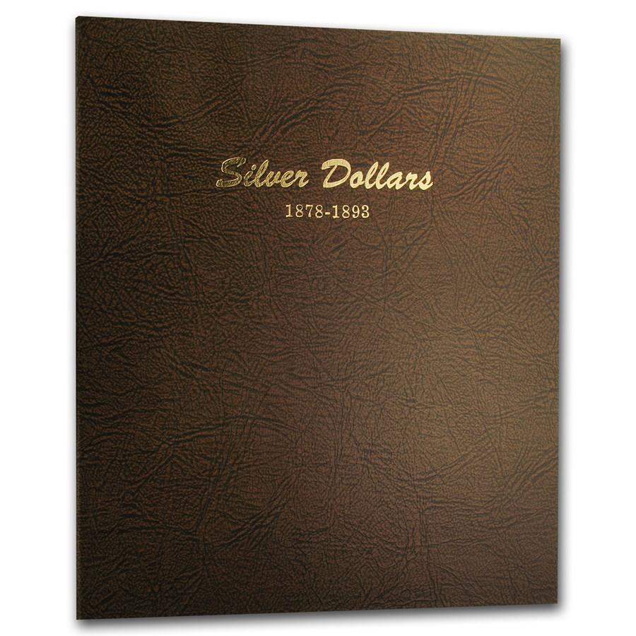 Dansco Album #7173 - Silver Dollars 1878-1893
