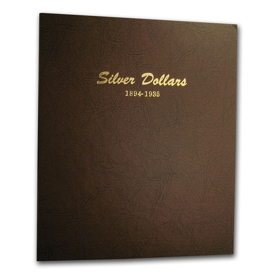 Dansco Album #7174 - Silver Dollars 1894-1935