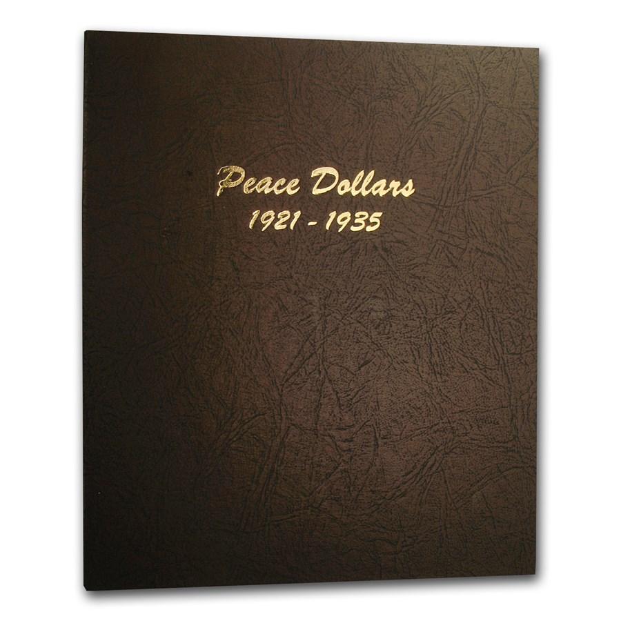 Dansco Album #7175 - Peace Dollars 1921-1935