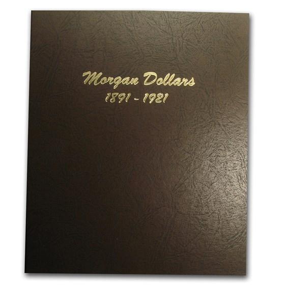 Dansco Album #7179 - Morgan Dollars 1891-1921