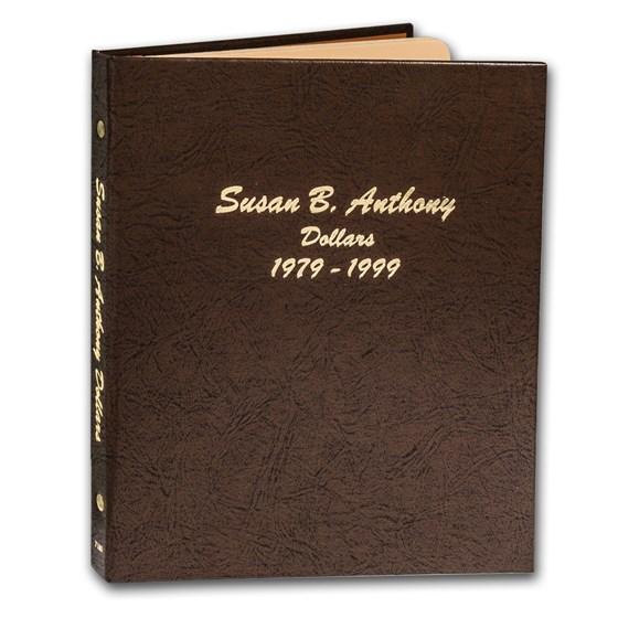 Dansco Album #7180 - Susan B. Anthony Dollars 1979-1999