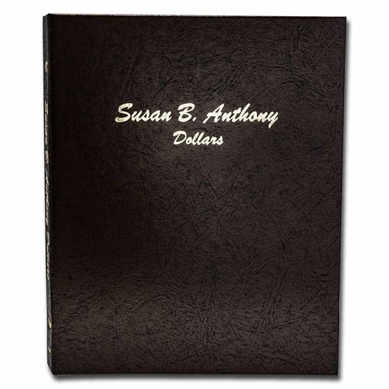Dansco Album #7180 - Susan B. Anthony Dollars