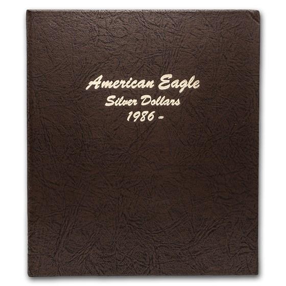 Dansco Album #7181 - Silver American Eagle Dollars (w/o Proofs)