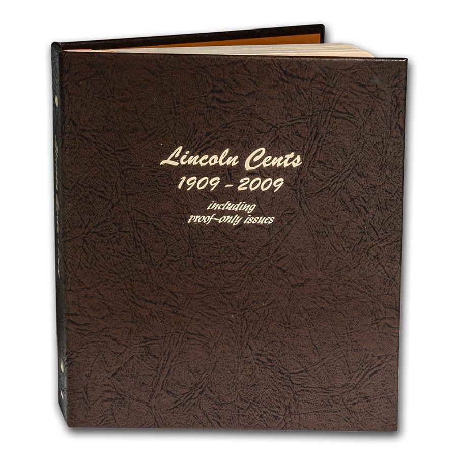 Dansco Album #8100 - Lincoln 1909-2009 (w/Proofs)